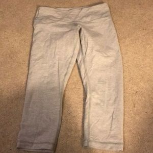 Lululemon gray crop